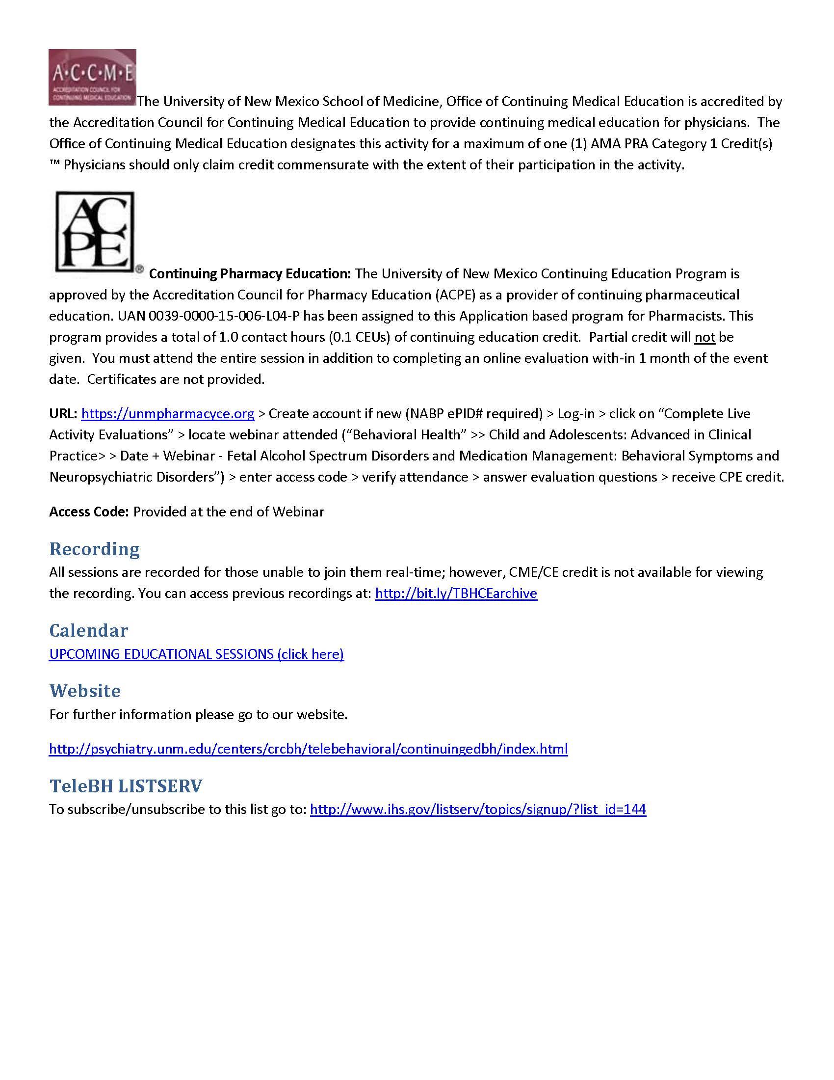 July 2015 – Northwest Peace FASD Network