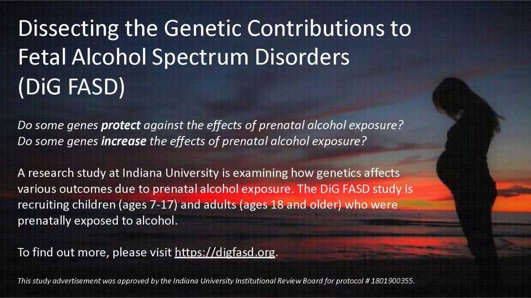 DiG FASD Study Flyer