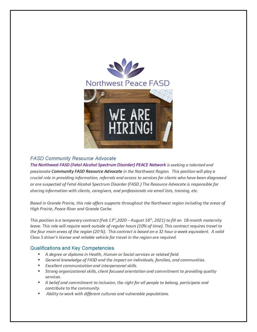 FASD Community Resource advocate Job Ad_Page_1.jpg