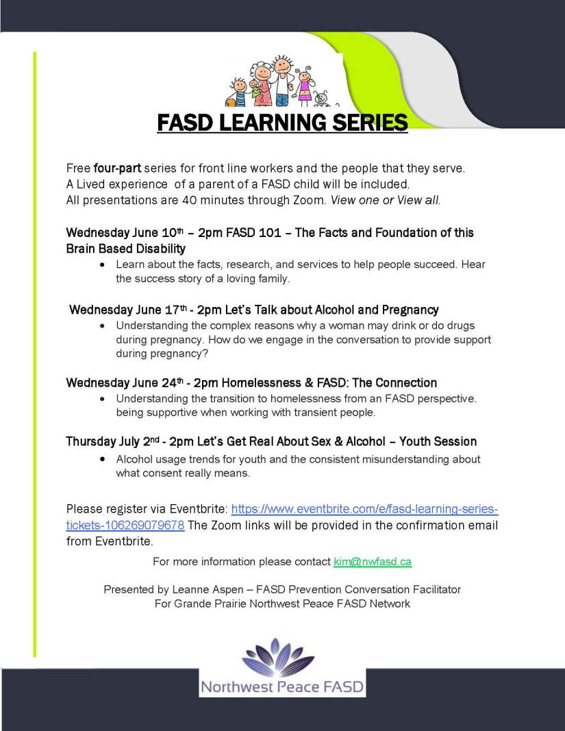 FASD online sessions- June 2020