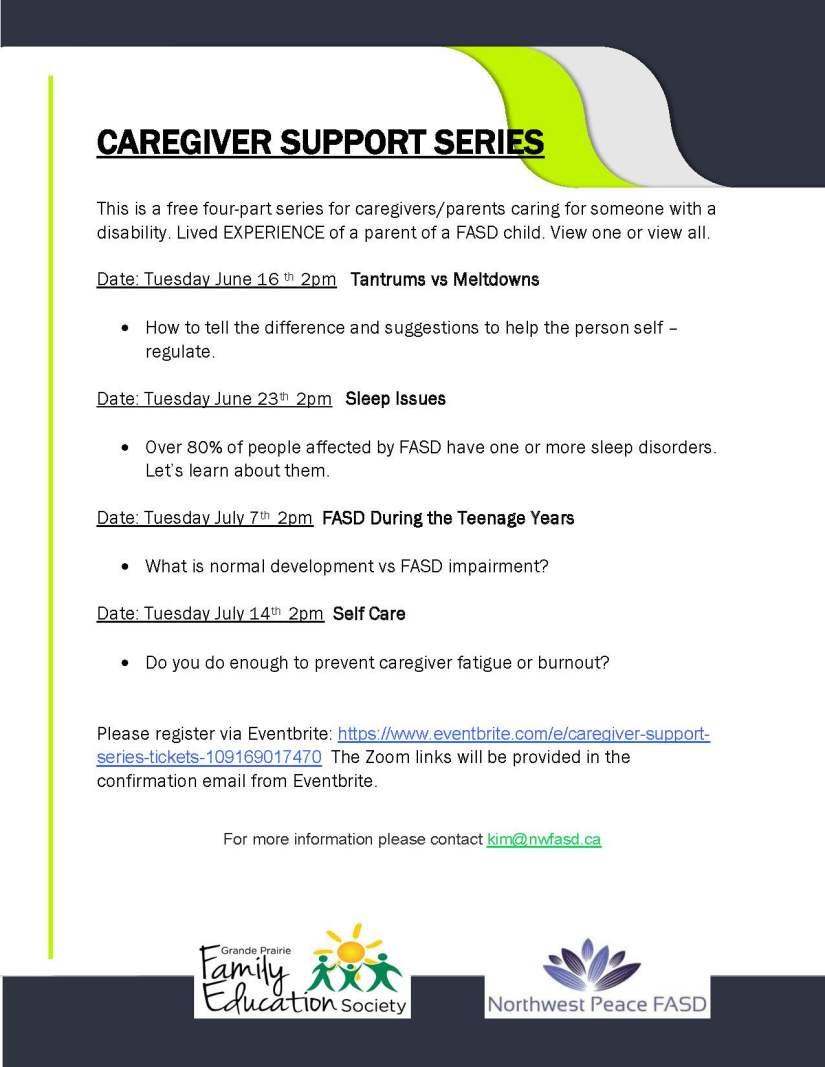 Caregivers poster part 2